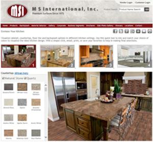 MSI Updates Kitchen Visualizer Tool | 2014-07-03 | Floor