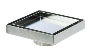 Luxe Linear Drains Square Tray Replacement Inserts For