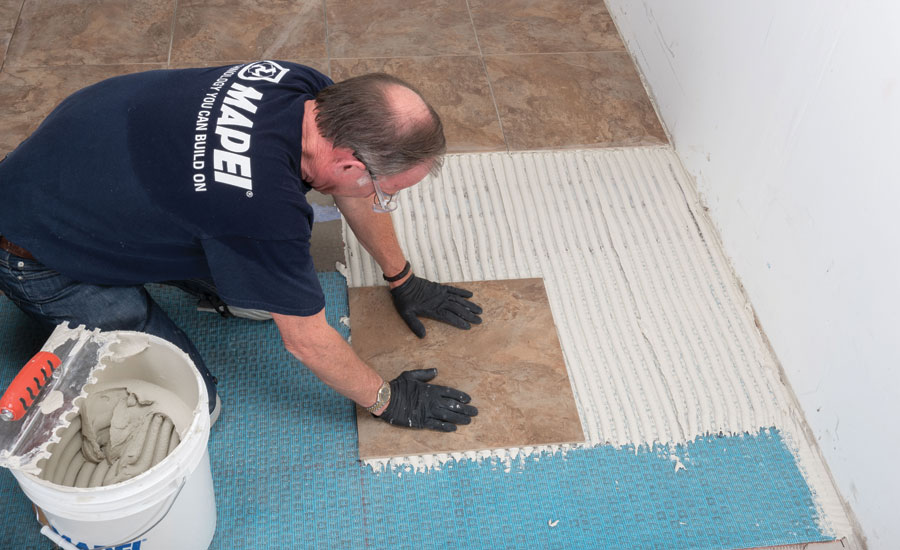 Installing LargeFormat Ceramic Tile Understanding Prep Products - Best thinset for ceramic tile