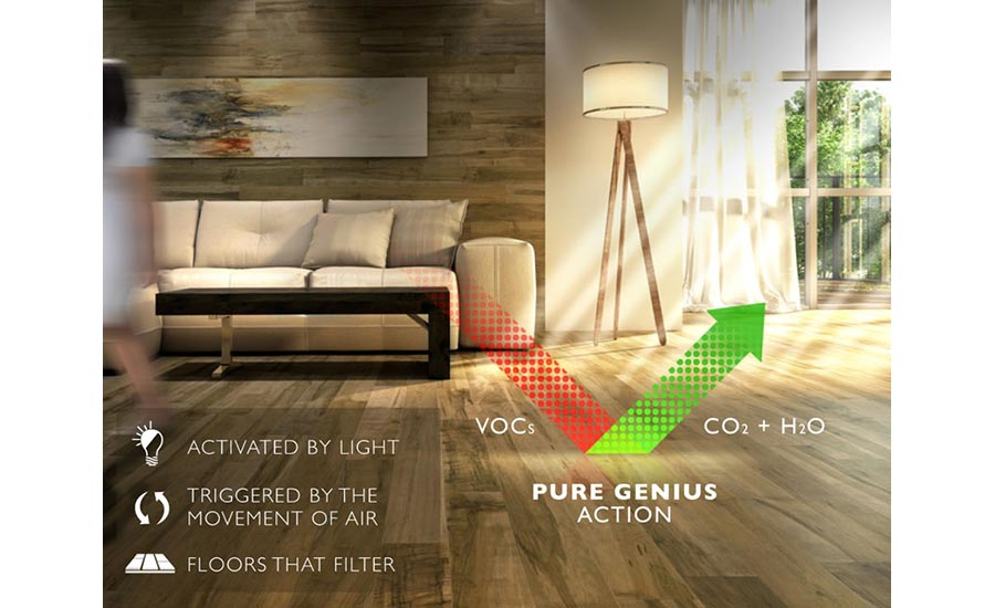 Lauzon's Pure Genius hardwoodwood flooring
