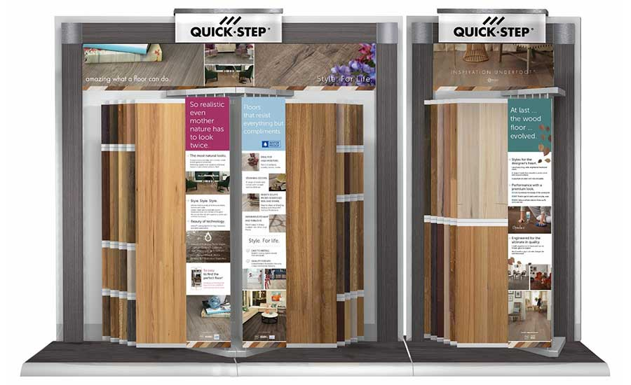 Quick Step Launches New Comprehensive Display At Surfaces