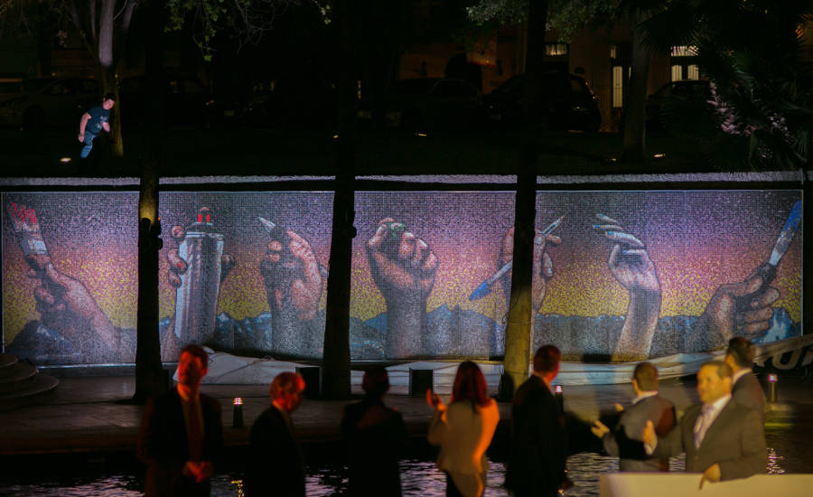 Bostik Announces Winner of Mexico's Pixel Mural Competition | 2018
